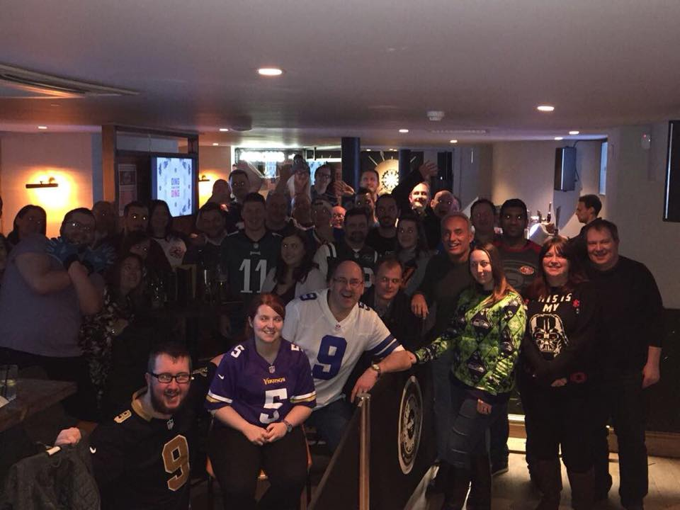 Join us for the NFL UK Fan Meet Up Christmas Party (15 December 2018)