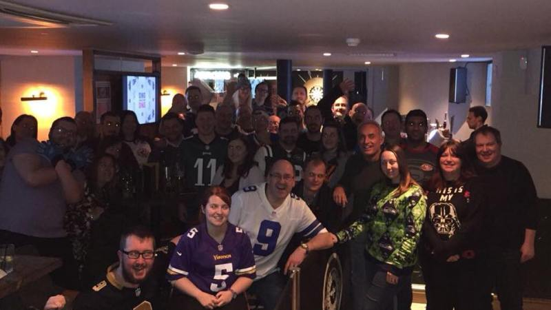 Join us for the NFL UK Fan Meet Up Christmas Party
