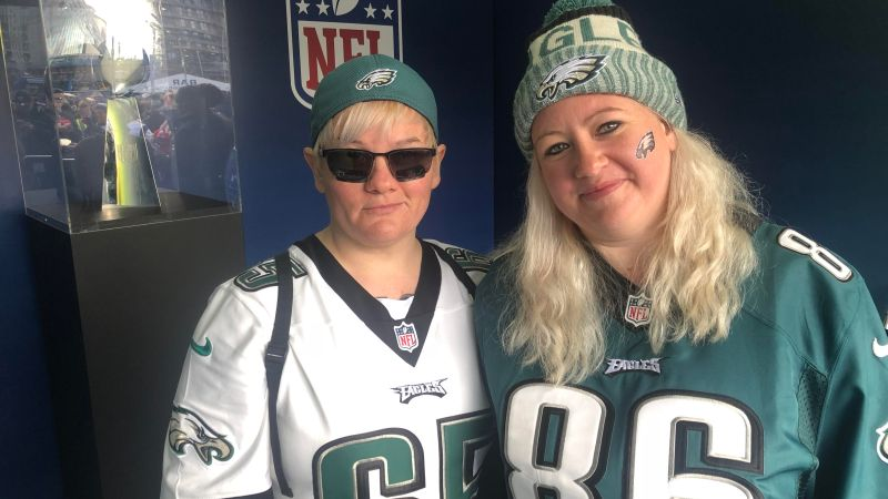 Celebrating female NFL fans in the UK: Introducing Philadelphia Eagles fan, Tori Woodworth.