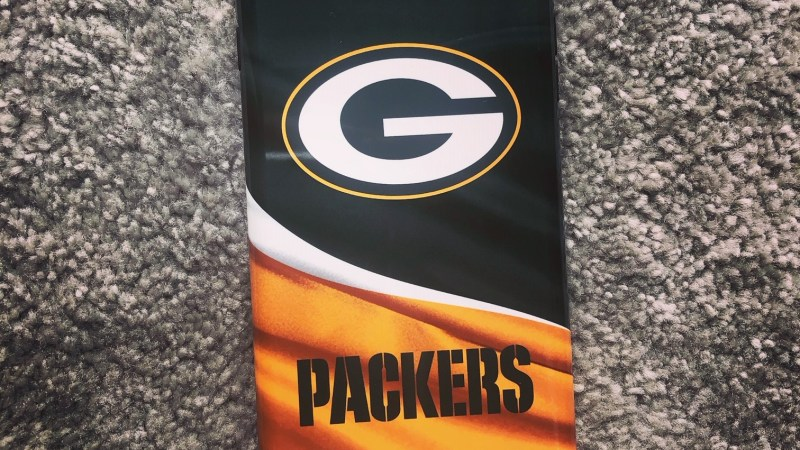 You can win this Green Bay Packers iPhone case