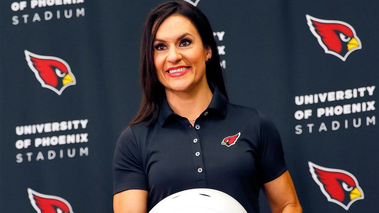Meet Jen Welter: First female coach in a professional football league