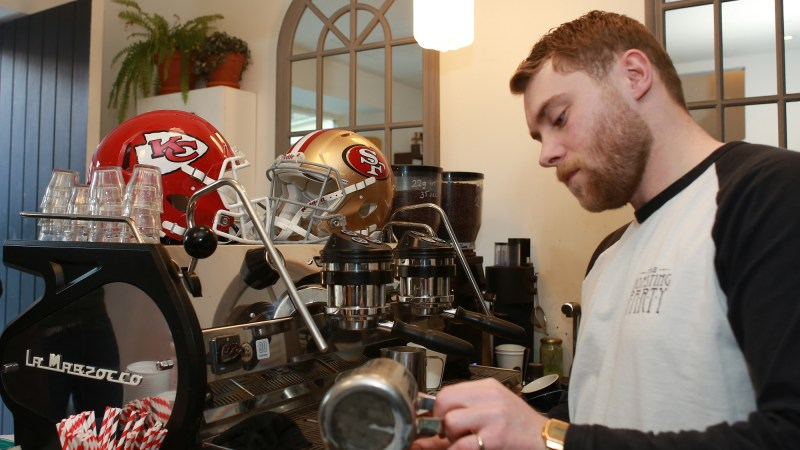 This Monday, enjoy a free post Super Bowl coffee in London with NFL UK