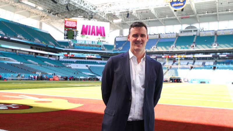 Henry Hodgson, VP of International Marketing at NFL