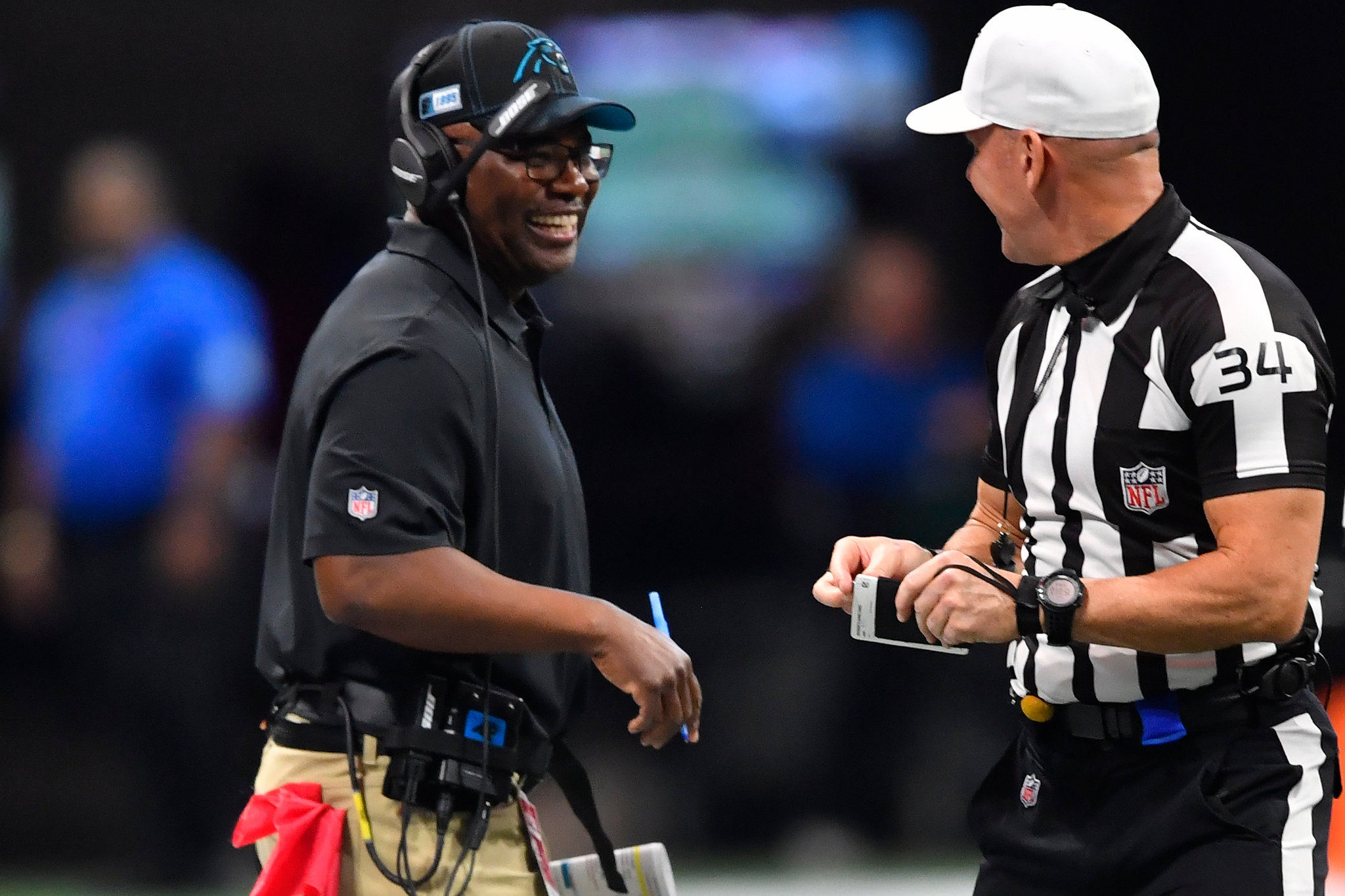 Perry Fewell e Walt Anderson se juntam à equipe de oficiais da NFL 1