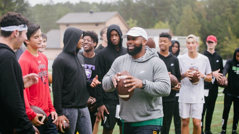 Coach Quincy Avery, President of Quarterback Takeover