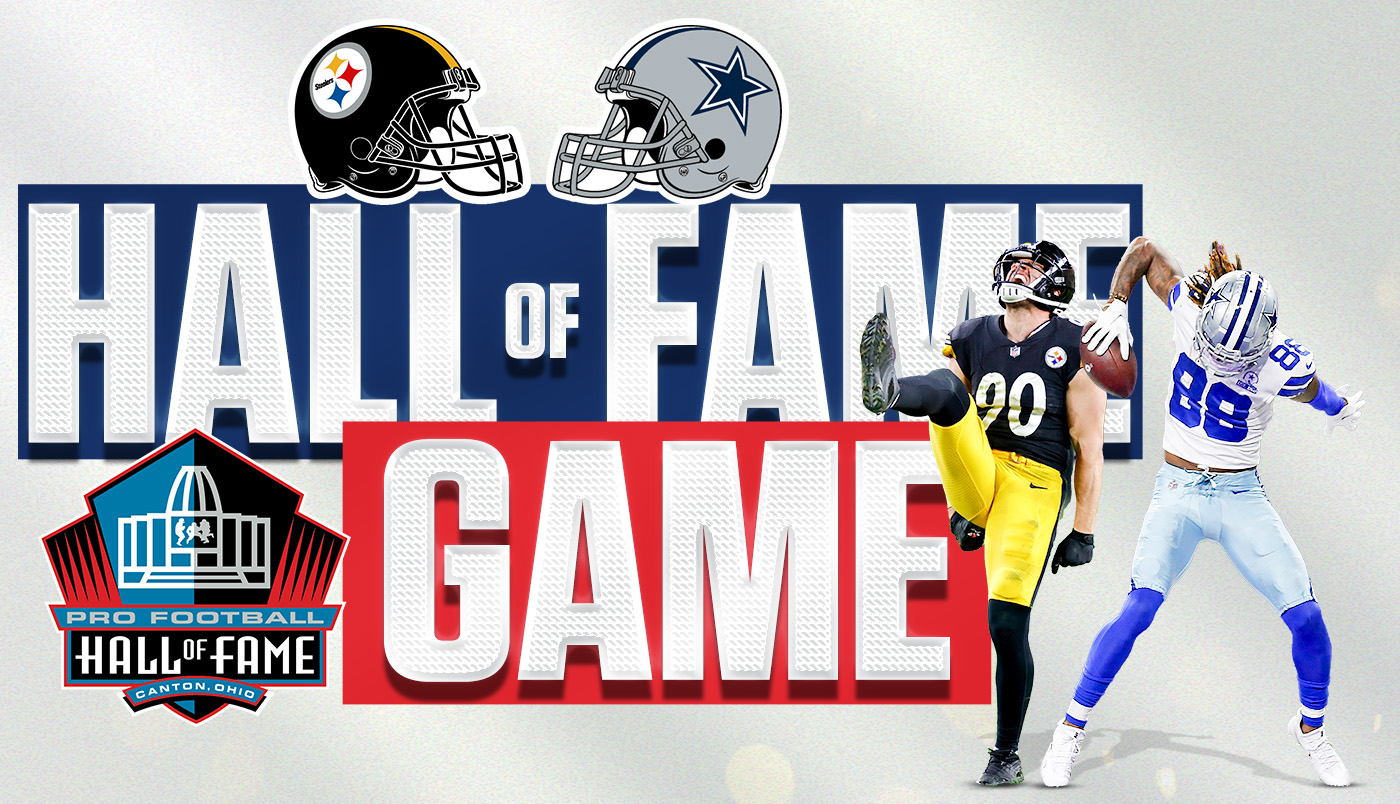 What is the Pro-Football Hall of Fame game, and why is it important?
