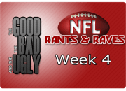 The Good, The Bad & The Ugly - Week 4