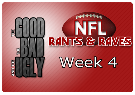 The Good, The Bad & The Ugly – Week 4
