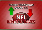 Power Rankings Week11
