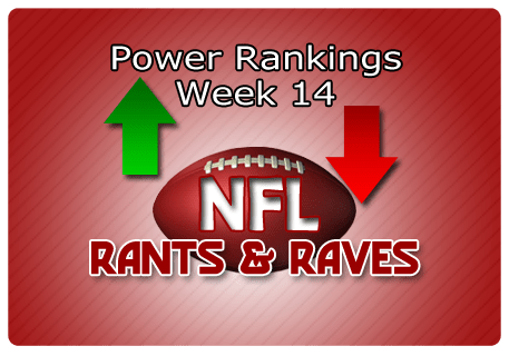 JEFF's Week 14 Powerful Rankings