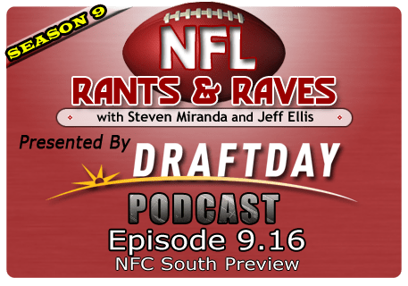Episode 9.16 – NFC South Preview