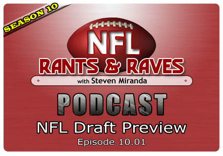 Episode 10.01 – NFL Draft Preview