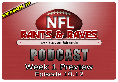 Episode 10.12 – Week 1 Preview
