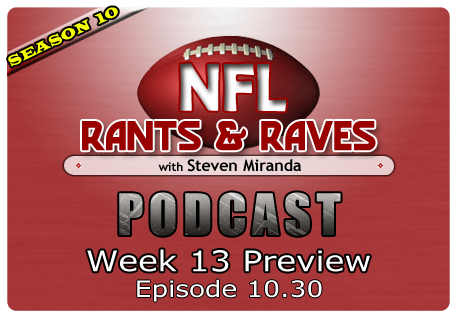 Episode 10.30 – Week 13 Preview