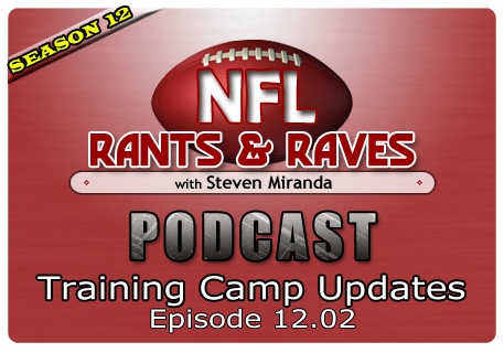 Episode 12.02 – Training Camp Updates
