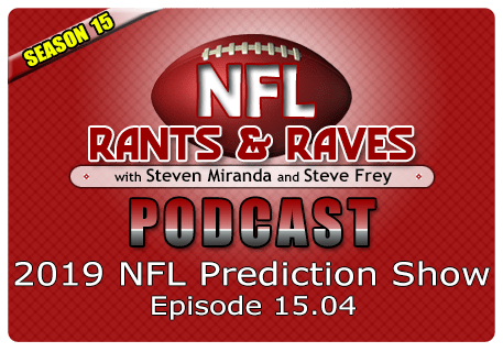 Episode 15.04 – 2019 NFL Prediction