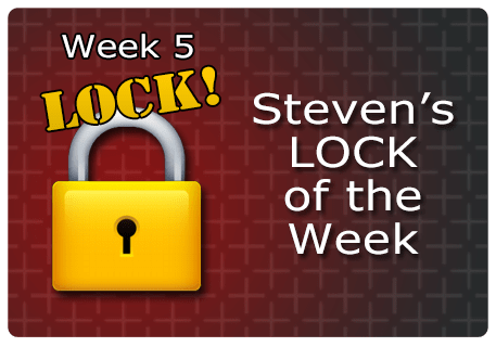 WK 5 – LOCK of the Week