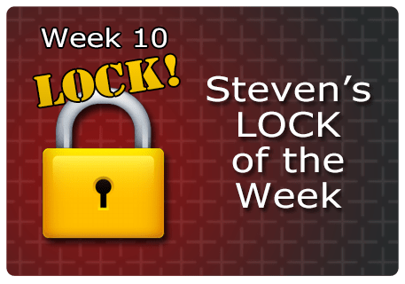 WK 10 – LOCK of the Week