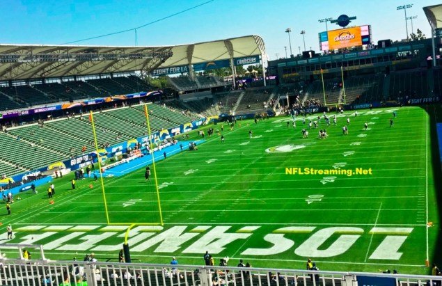 StubHub Center - home ground of Los Angeles Chargers
