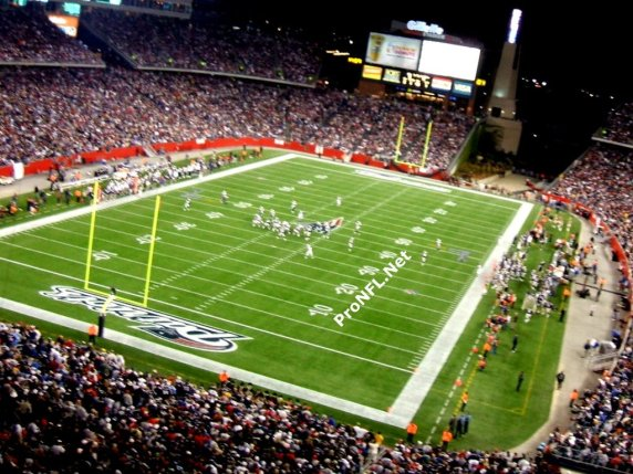 New England Patriots Stadium - Playing Ground