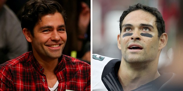 Mark Sanchez (Thomas B. Shea/Getty Images). Adrian Grenier (Elsa)