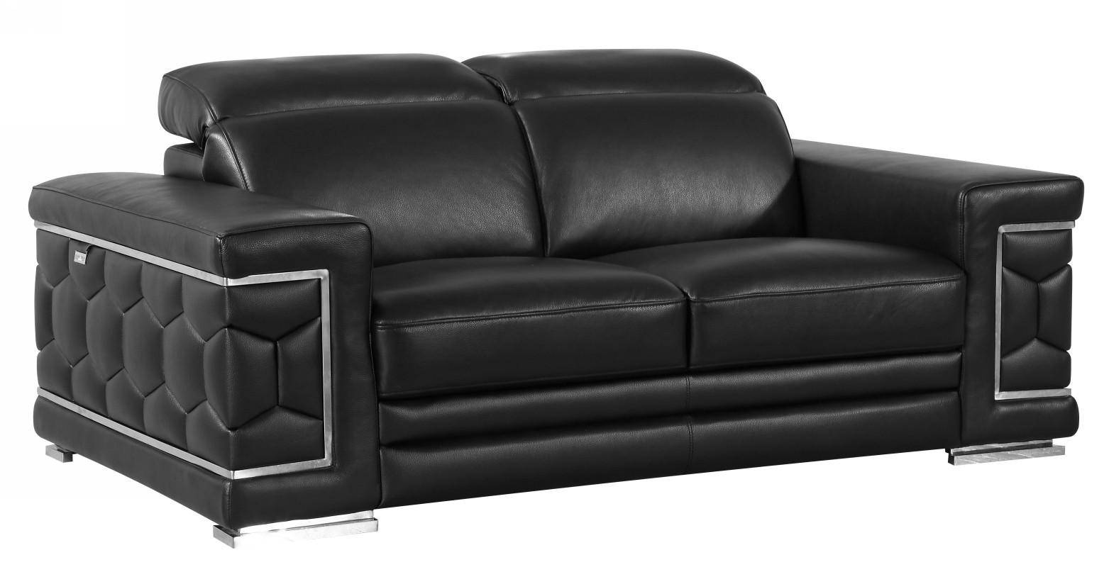 Sofas, tables, office desks, office chairs, decor, carpets, outdoor furniture. Buy Soflex Blake Sofa Set 3 Pcs in Black, Genuine Leather ...