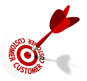 five steps target customers