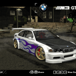 Need For Speed Most Wanted Fully Customizable Bmw M3 Gtr Race Version V3 Nfscars