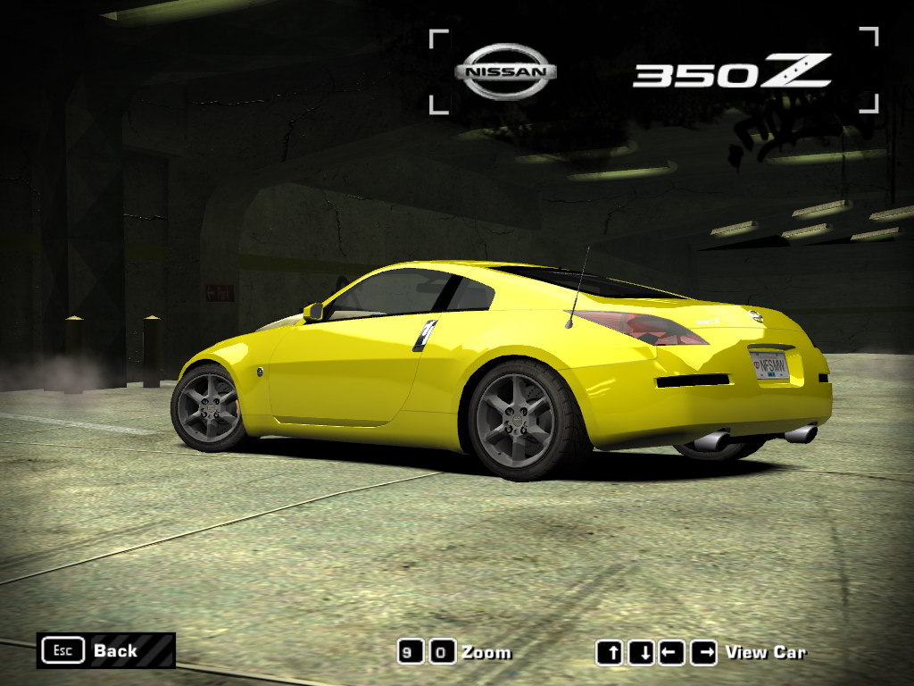 Need For Speed Most Wanted Nissan 350Z 2005 NFSCars