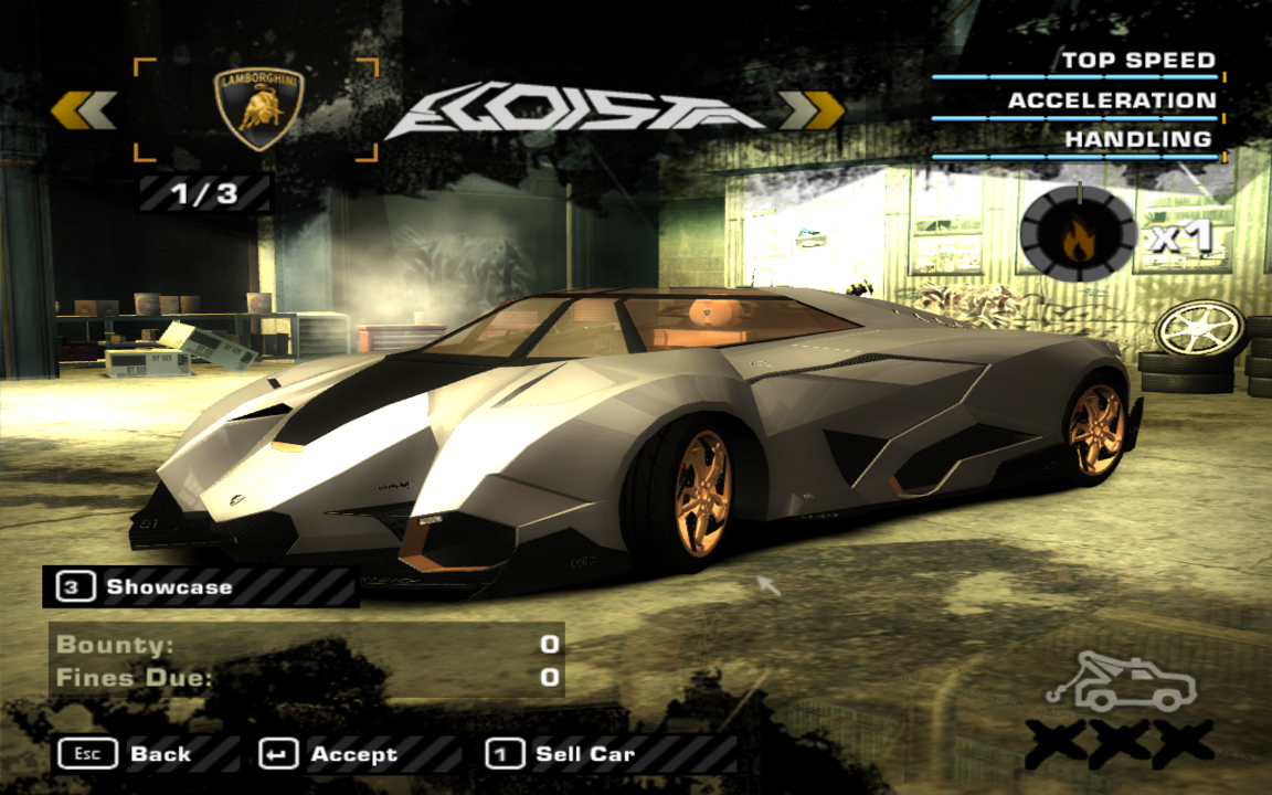 Need For Speed Most Wanted Egoista Concept Nfscars