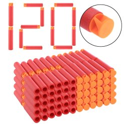 120Pcs Whirlwind Head Soft Bullets for Nerf Mega Blaster Toy