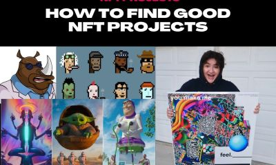 how to find good nft projects