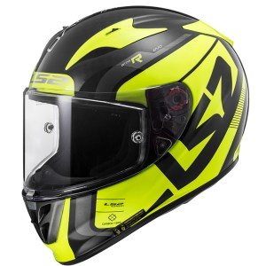 LS2 FF323 Arrow C Evo Carbon Sting Yellow