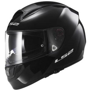 LS2 FF397 Vector Evo Gloss Black