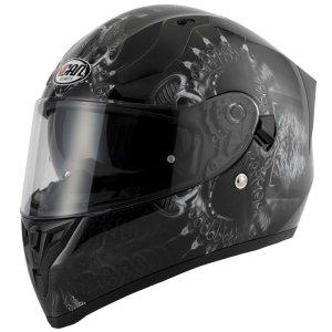 ac2e0c1a Vcan V127 Scotland Full Face Dual Visor Helmet – Nightingales