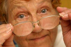 senior eye sight