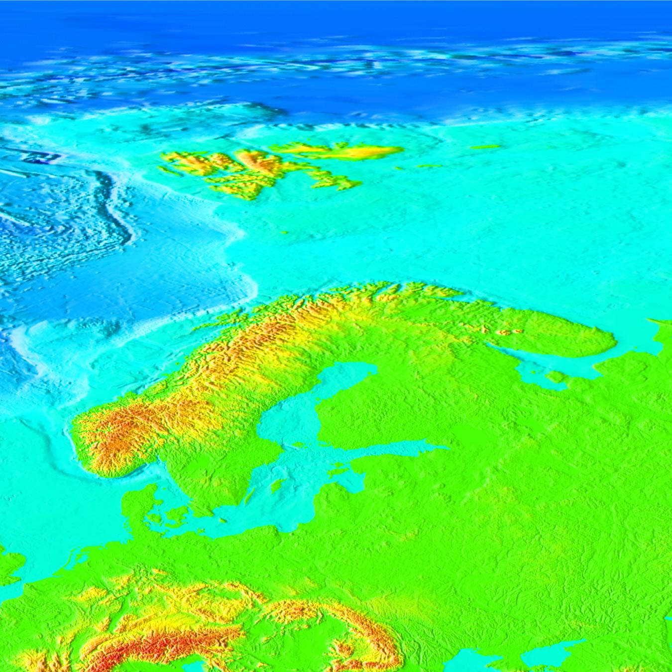 Topography Of The Ocean Floor