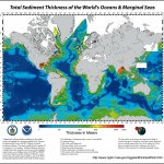 Total Sediment Thickness Of The World S Oceans And Marginal Seas Version 1 Deprecated Ncei