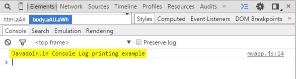 inboxsdk console log