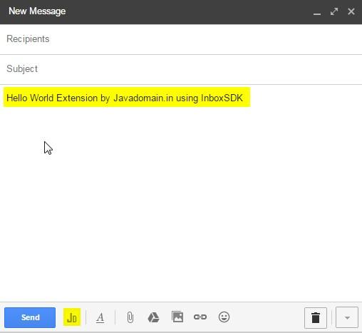 inboxsdk tutorials examples