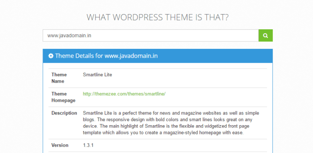 4 Super Tools to find theme of any wordpress Site