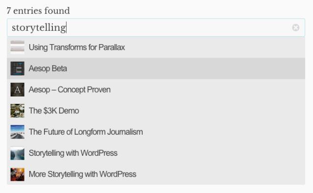 3 best live search wordpress plugins