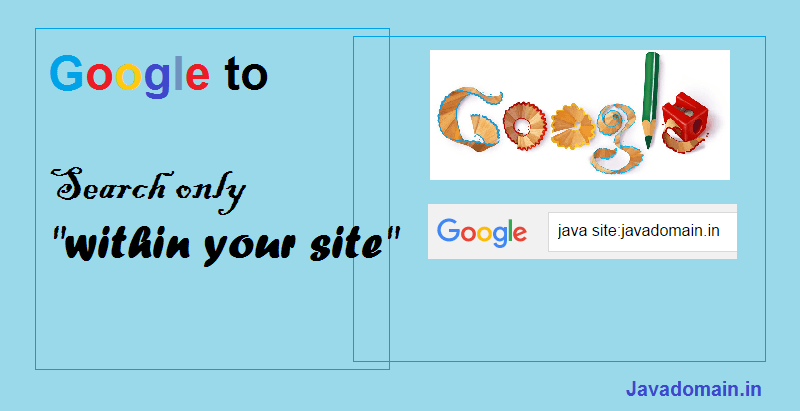 Google to search only within your site using jQuery & Bootstrap