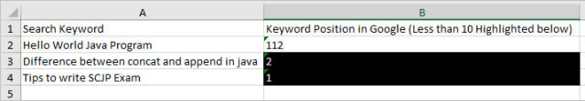 Auto Expand Column/Cell Excel Writing in Java