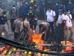 Kondisi Gudang Petasan Kosambi Setelah Api Padam
