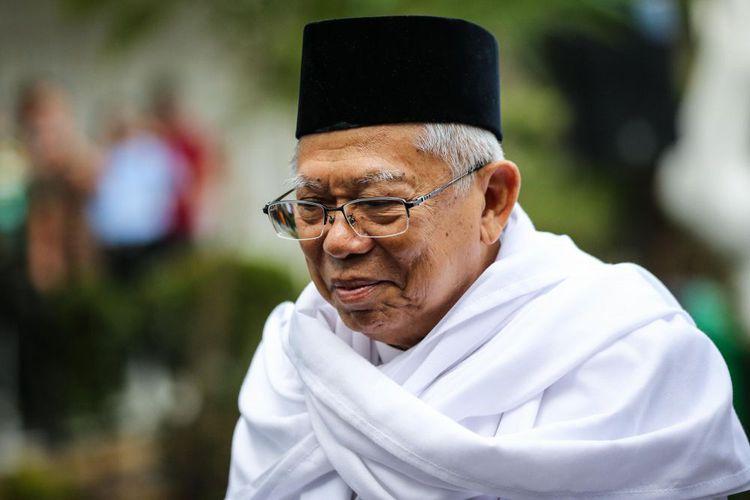 Ma'ruf Amin Terkilir: Ketua GNPF Ulama sudah Jenguk, Jokowi Belum