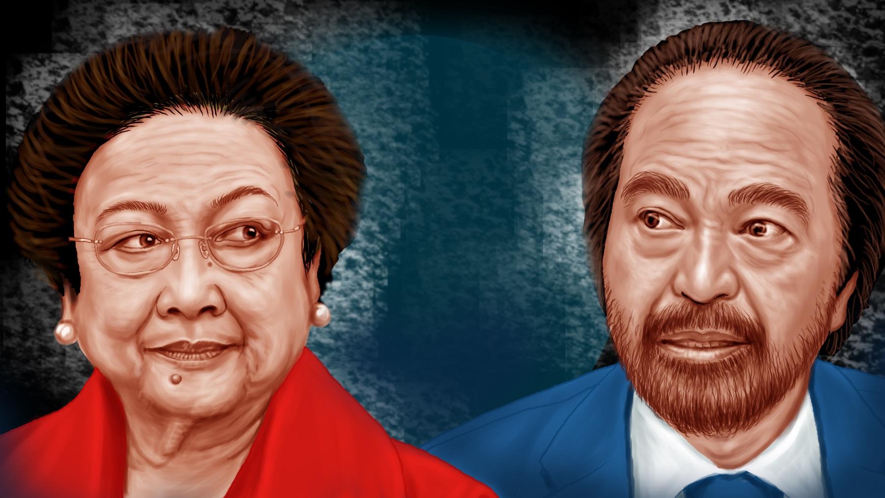 Megawati Ingin NasDem Jadi Oposisi