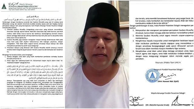 Pondok Pesantren Sidogiri Mengecam Pernyataan Gus Muwafiq dalam Ceramahnya