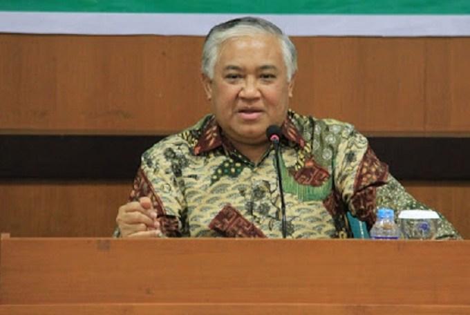 Din Syamsuddin Jokowi Nadiem