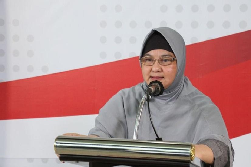 Erlina Burhan Lawan COVID